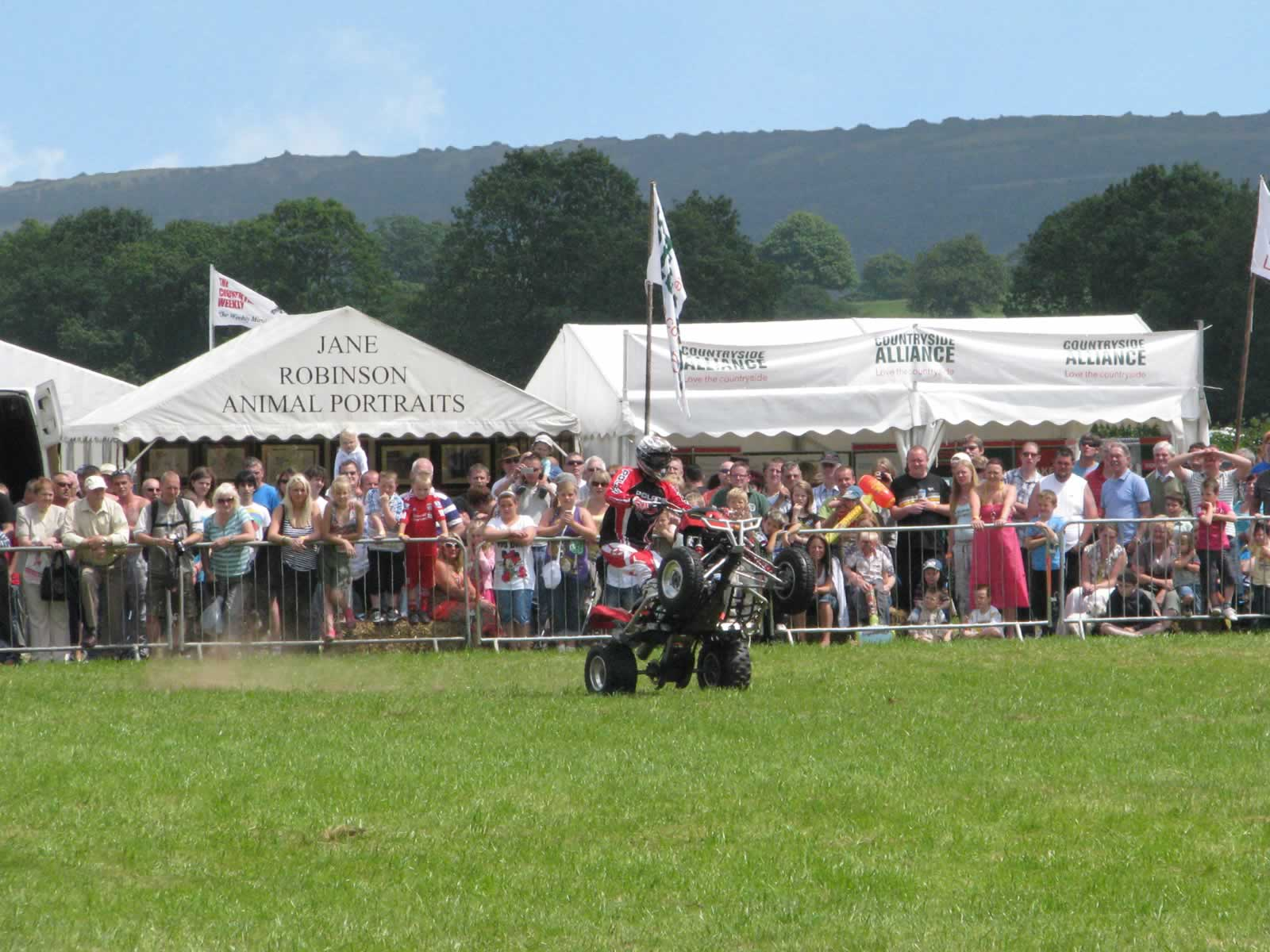 Welsh Game Fair background